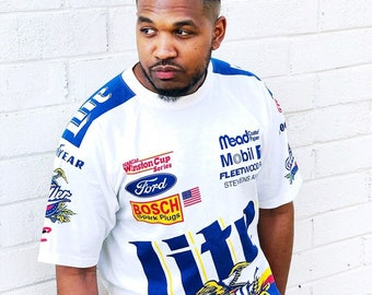 Vintage Miller Lite Racing Shirt