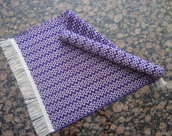 Handwoven Table Runner - Purple