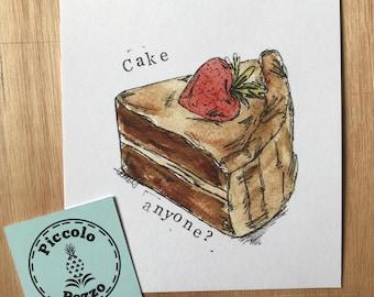 Cake anyone? print