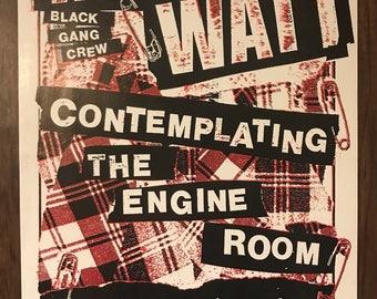 Mike Watt gig poster Five & Dime