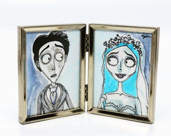 The Corpse Bride Watercolour Fan Art