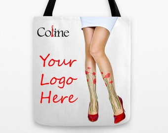 YOUR LOGO  Tote Bag , Custom Logo Printed Bag, Personalized Tote Bag , For Business, Custom Promo Totes, Your Logo Here