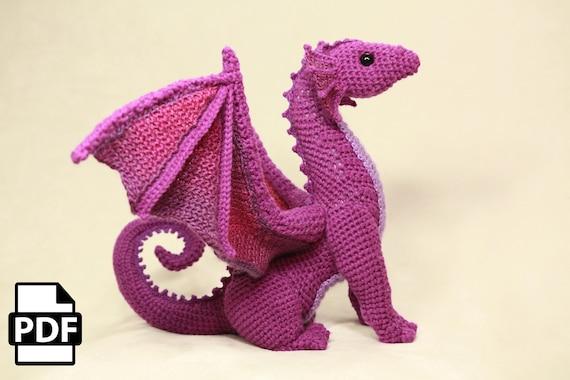 Amigurumi Magazine Pdf : Digital pdf dragon crochet amigurumi digital pattern