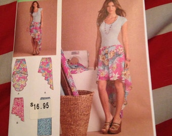Simplicity misses' pull on skirt learn to sew pattern