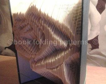 Rose book folding pattern