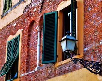 Travel Photography- Light In Lucca Italy- Italian, Tuscan, European, Architectural Fine Art Photography
