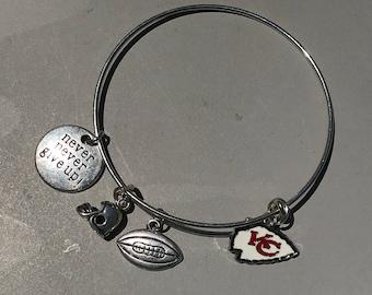 Kansas City Chiefs Bangle,