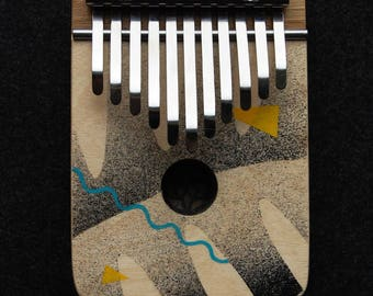 JUNGLE - electric kalimba G major pentatonic - thumb piano - natural toys - wooden toys -  music gift - music instrument