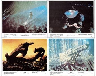 Alien 8x10 Still Set 8 Stills Mint 1979 Lobby Card H.R. Giger