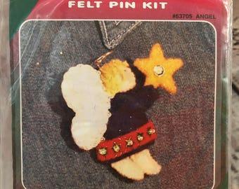 Cute Loot ANGEL  Sequin Felt Pin Kit 63705