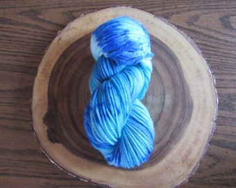 Smashing Waves - Hand Painted Indie Dyed Bulky Weight Yarn 100% Wool