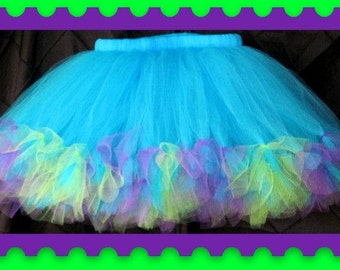 Petti Tutu Skirt,Baby tutu,Toddler tutu,Teen tutu,Adult tutu,Choose your size and colors,Photo Prop,flower girl, birthday, I ship priority