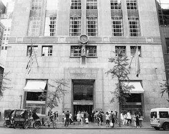 Tiffanys, New York Photography, 5th Avenue, Tiffany and Company, Black and White Photography, NYC, Shopping, Girls Room Decor, Wall Art