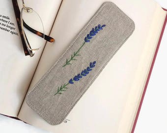Literary Gift | Handmade Bookmark, Gift for Reader, Stitched Bookmark, Book Lover Gift, Gift for Bookworm, Book Lover, Book Gifts