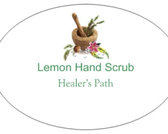 Lemon Hand Scrub