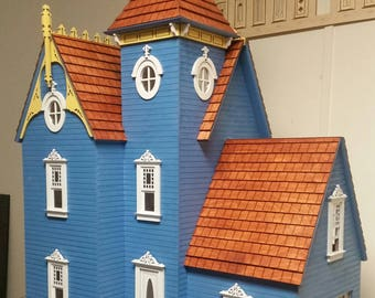Little Ann Victorian Cottage 1 48 Scale Dollhouse