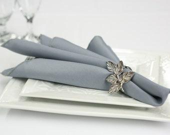 Gray Napkin Polyester