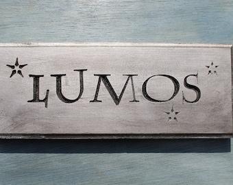 Silver Lumos Wall Plaque