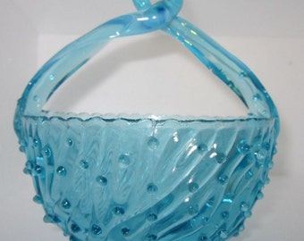 Antique EAPG Victorian Jefferson Art Glass Opalescent Shabby Blue patent pending may basket,charming glass,Shabby Chic,tabletop,home decor