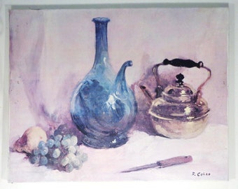 Still Life by Rudolph Colao - Oil on Canvas - 28'' X 22''