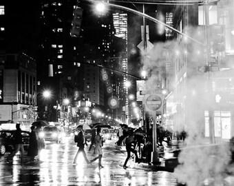 City Rainy Street