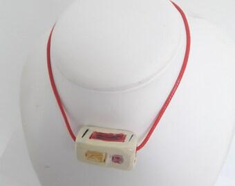 Pim pam pet necklace