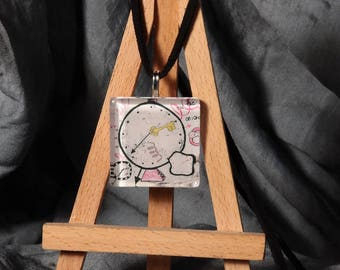 The key of time / pendant painting original