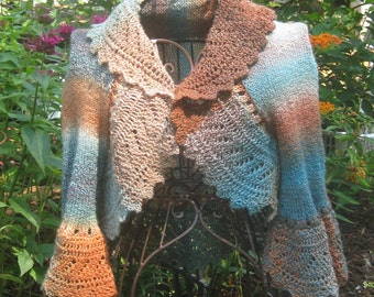 Summer Garden shrug  Pattern