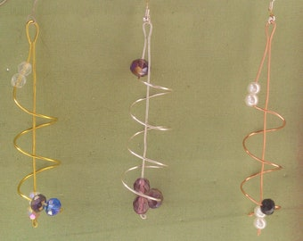 jewelry made with copper, brass and silver (925)