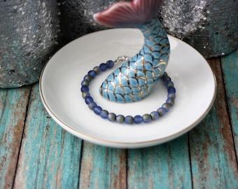 Iris Blue Pearl Bracelet, Pearl Bracelets, Bracelets, Jewelry, Pearl Jewelry