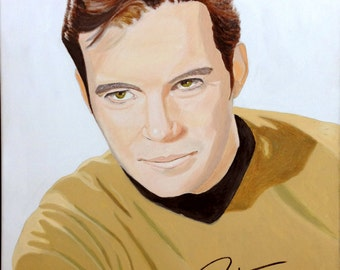 William Shatner autographed giclee.