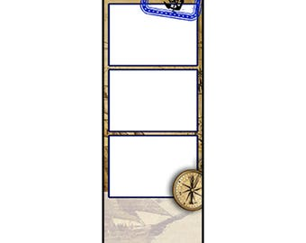 Photo Strip Template for Photo Booths | 2069