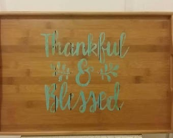 Thankful & blessed bamboo try