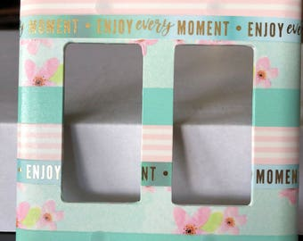 Enjoy Every Moment Switchplate Cover