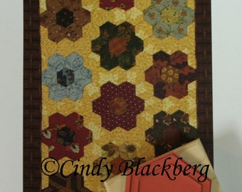SALE!! Cindy Blagberg Mini Hexagon Stamp