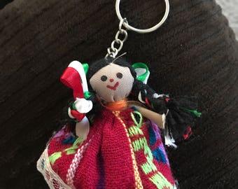Handnade keychain muñeca