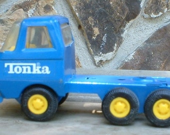 Vintage Blue Tonka Truck 55010