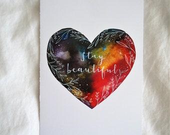 CARD - Stay Beautiful