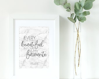 Personalised Love Decor Print