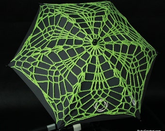 Crochet parasol cover for Bugaboo strollers