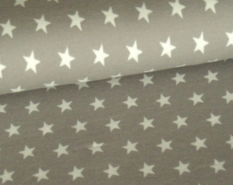 Tauper cotton jersey with white stars
