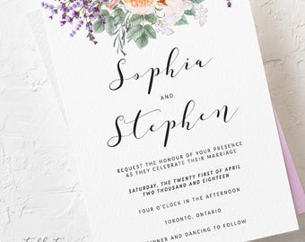 Country Charm - Wedding Invitations (Style 13759)