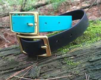 Water Resistant Biothane Dog Collar (Standard Weight)