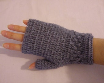 Handmade 100% alpaca wool fingerless gloves mitts mittens choose colour