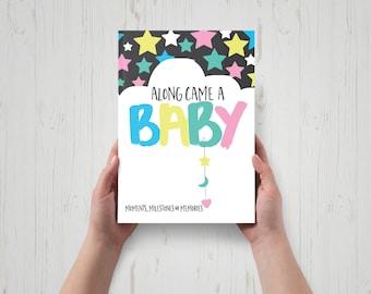 Along Came A Baby Milestone Book