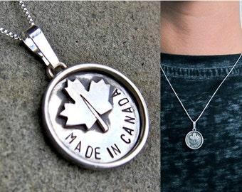 Made in Canada pendentif