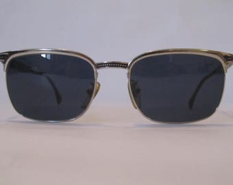 Vintage Sunglasses Police sunglasses clubmaster made in Italy NEW year 1990 with 541 2236 NEW mod