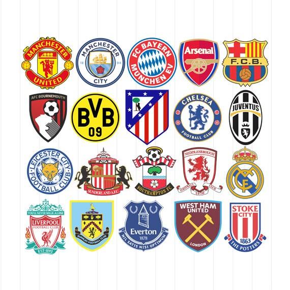 european soccer team logos 12000 vector logos