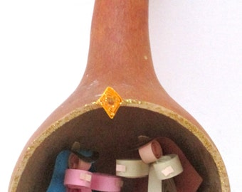 Quilled Christmas Nativity Ornament