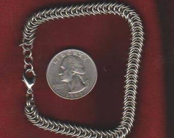 "Half Persian Bracelet Mixed Metal - 7 1/2"" Length"